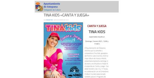 TINA KIDS «CANTA Y JUEGA»