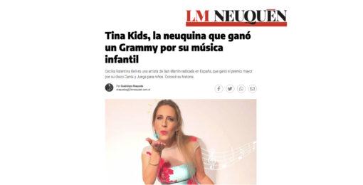 Tina Kids, la neuquina que ganó un Grammy por su música infantil